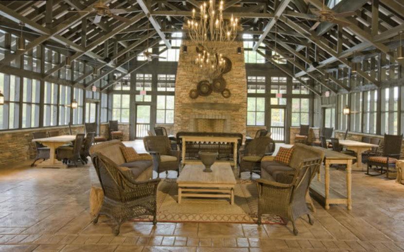 Interior of Club House