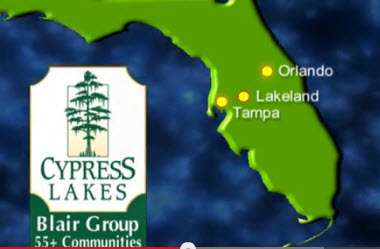 Relative location of Lakeland, FL