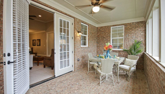 Enclosed Porch in Olde Town Grayson