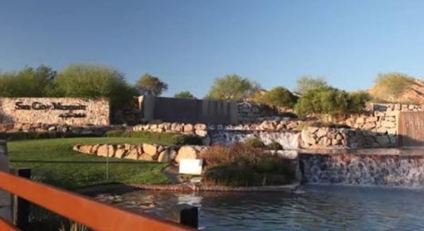 Entrance to Sun City Mesquite