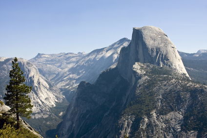 Half Dome in the AM